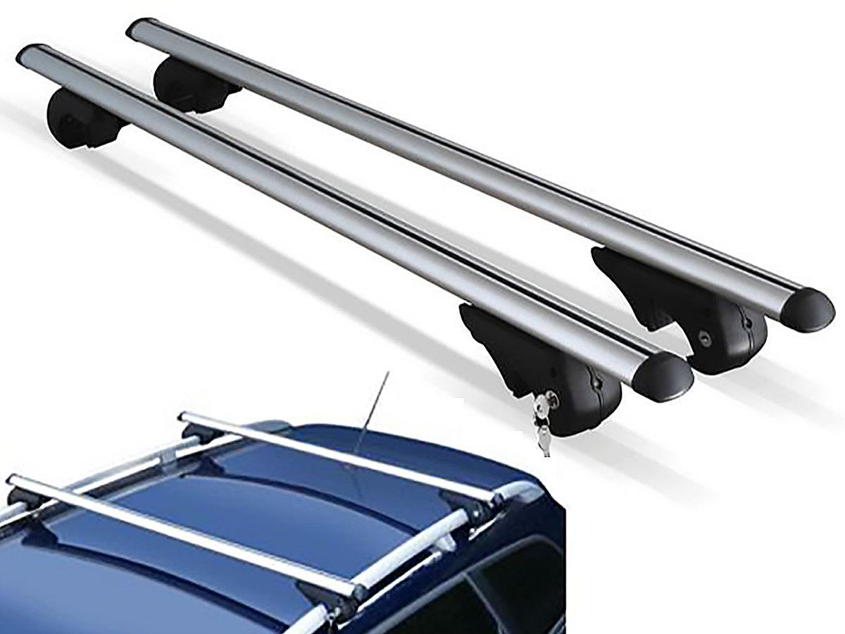 Travessa rack de teto Belluno Kiussi com chave Tracker 1999 a 2009