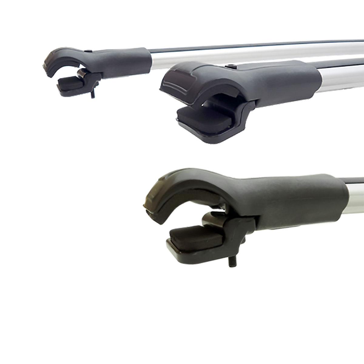 Travessa rack de teto larga alumínio Pajero TR4 2010 a 2015