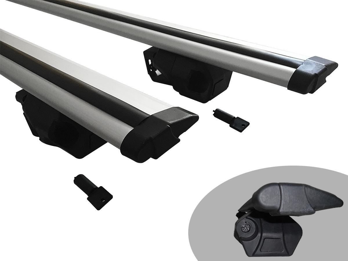 Travessa rack de teto Procargo Lifan X60 2013 a 2016 com trava de seguran�a