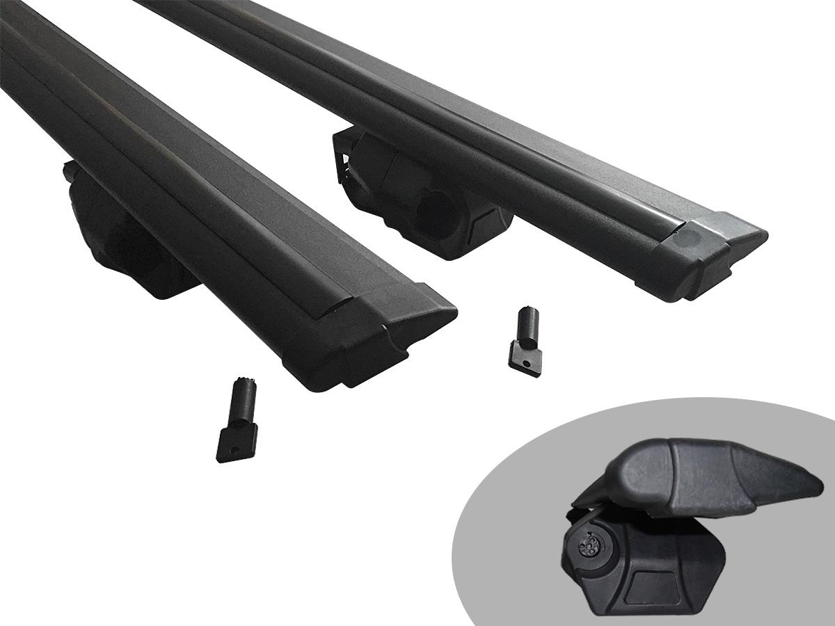 Travessa rack de teto Procargo preta Idea 2006 a 2016 com trava de seguran�a