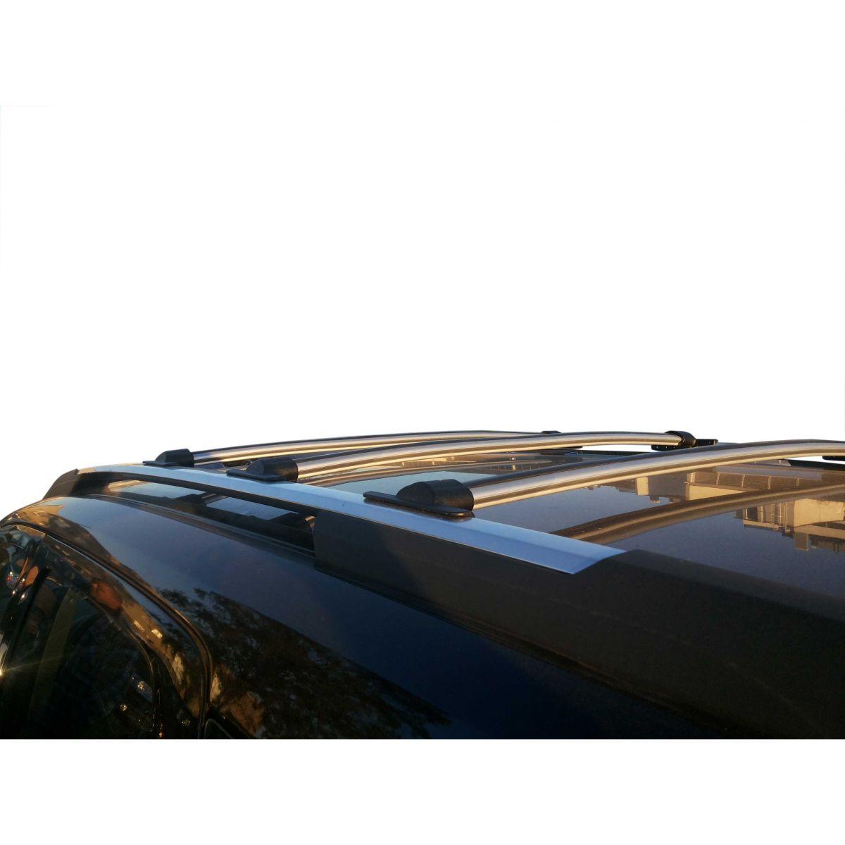 Travessa rack de teto Trailblazer 2013 a 2017 fixação original kit 3 peças