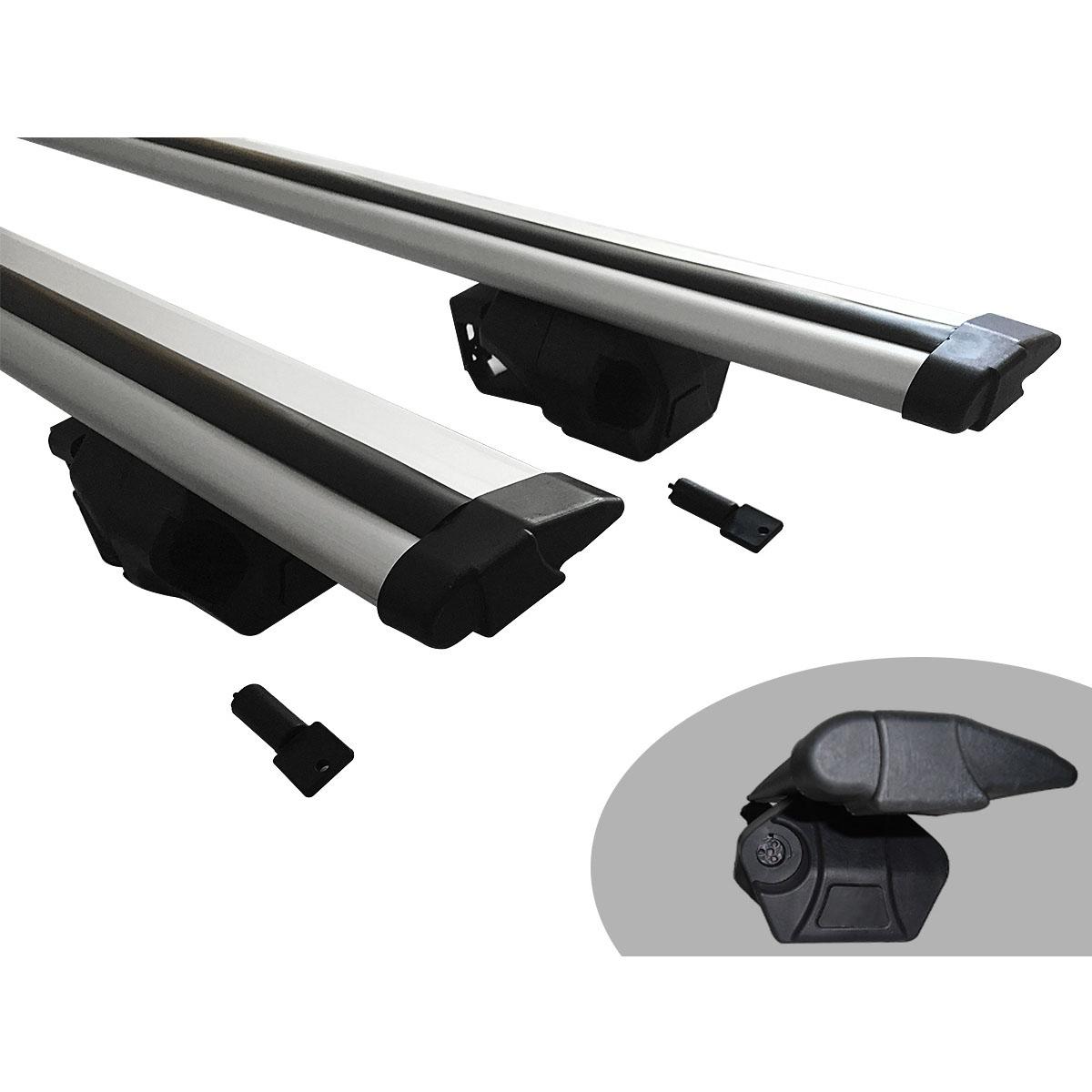 Travessa rack de teto Procargo Jetta Variant 2008 a 2013 com trava de segurança