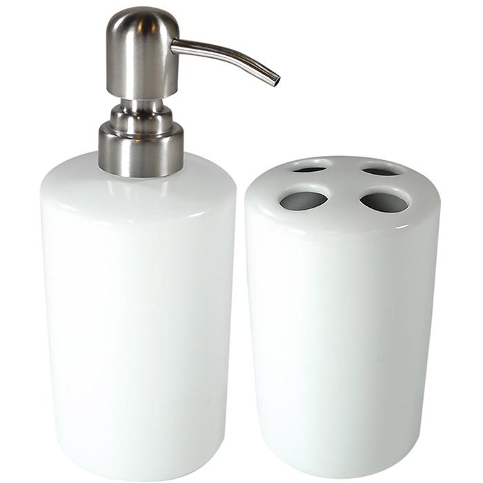 Kit Banheiro de cerâmica para Sublimação 2 peças  - ALFANETI COMERCIO DE MIDIAS E SUBLIMAÇÃO LTDA-ME