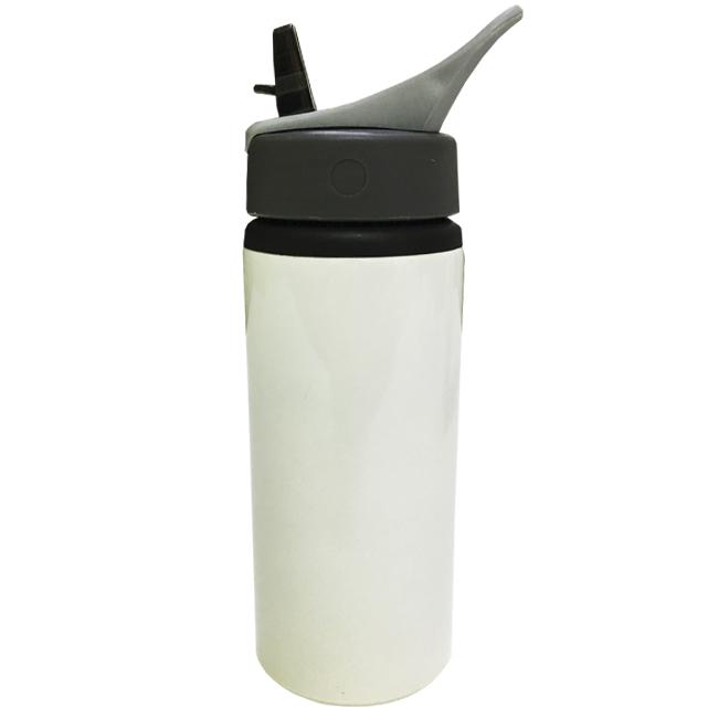 Squeeze de Alúminio Branco Para Sublimação 600ml (NIKE)