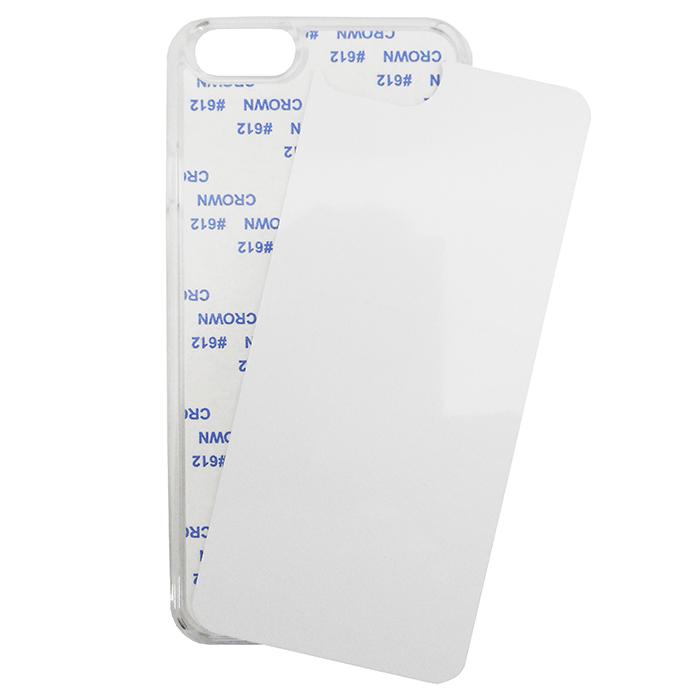 Capa Sublimática Para Celular Iphone 6/6s Plus (Transparente)  - ALFANETI COMERCIO DE MIDIAS E SUBLIMAÇÃO LTDA-ME