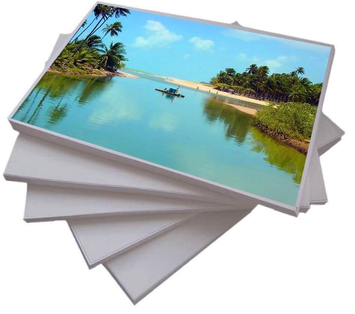 Papel Fotográfico Glossy ( Brilhante ) A4 180gr  - ALFANETI COMERCIO DE MIDIAS E SUBLIMAÇÃO LTDA-ME