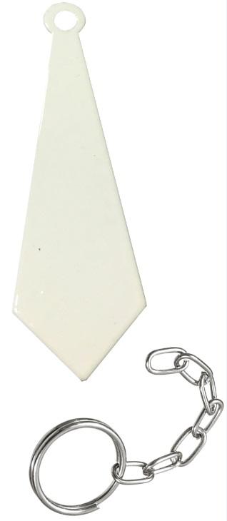 Chaveiro sublimático Branco (Gravata)