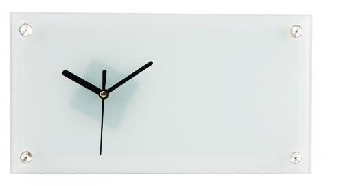 Relógio Para Sublimação Branco 30x16cm  - ALFANETI COMERCIO DE MIDIAS E SUBLIMAÇÃO LTDA-ME