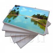 Papel Fotográfico Glossy ( Brilhante ) Adesivo A4 115gr