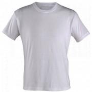 Camiseta Poliamida Branca para Sublimação Gola careca (DRY FIT MASCULINA)