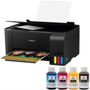 Impressora Sublimática Epson L3110 Multifuncional Tanque de Tinta Ecotank + Kit de Tinta Sublimática