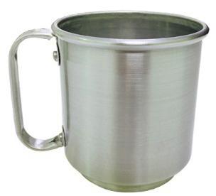 Caneca para Sublimação de Alumínio 400ml (Fosca)  - ALFANETI COMERCIO DE MIDIAS E SUBLIMAÇÃO LTDA-ME