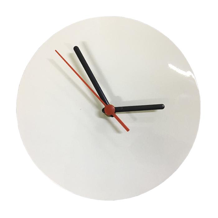 Relógio de Parede Para Sublimação Redondo 15x15 (Alumínio)  - ALFANETI COMERCIO DE MIDIAS E SUBLIMAÇÃO LTDA-ME