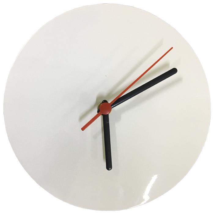 Relógio de Parede Para Sublimação Redondo 20x20 (Alumínio)  - ALFANETI COMERCIO DE MIDIAS E SUBLIMAÇÃO LTDA-ME