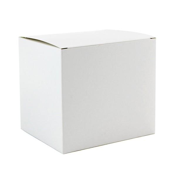 Caixinha branca Sublimática para caneca - (Sem janela e alça)  - ALFANETI COMERCIO DE MIDIAS E SUBLIMAÇÃO LTDA-ME