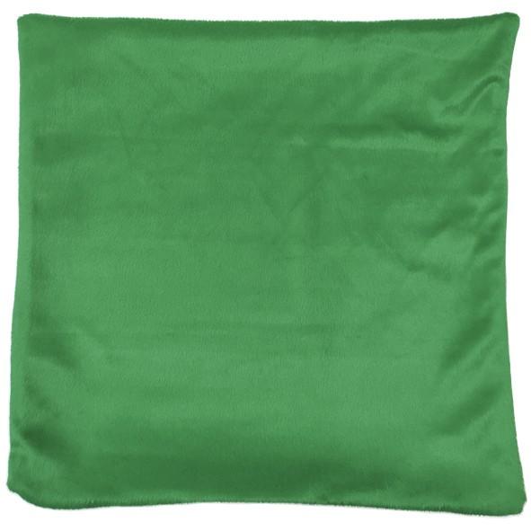 Capa de Almofada Sublimática 40x40 (Frente branca e fundo verde)