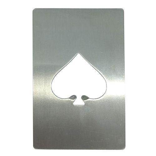 Cartão abridor de garrafa sublimático em metal inoxidável (as de espada)   - ALFANETI COMERCIO DE MIDIAS E SUBLIMAÇÃO LTDA-ME