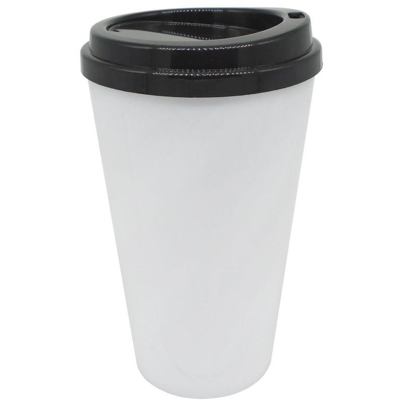 Copo café bucks 500ml - (tampa Preto)  - ALFANETI COMERCIO DE MIDIAS E SUBLIMAÇÃO LTDA-ME