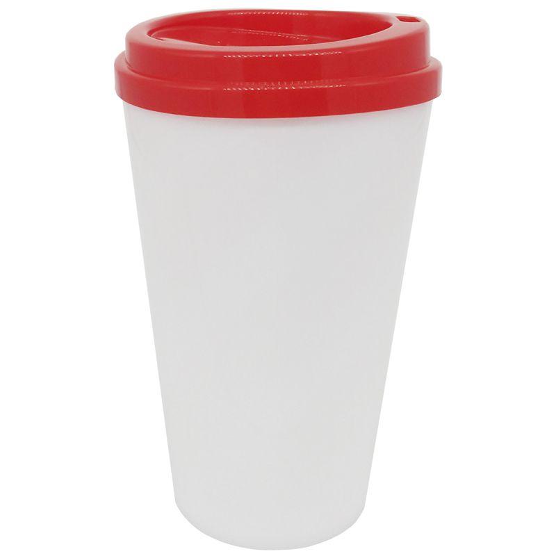 Copo café bucks 500ml - (tampa Vermelho)  - ALFANETI COMERCIO DE MIDIAS E SUBLIMAÇÃO LTDA-ME