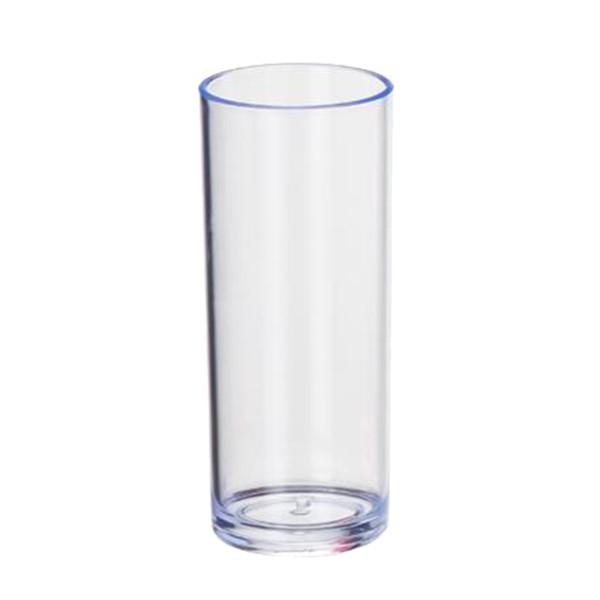 Copo Long Drink de Acrílico Cristal - 350ml  - ALFANETI COMERCIO DE MIDIAS E SUBLIMAÇÃO LTDA-ME