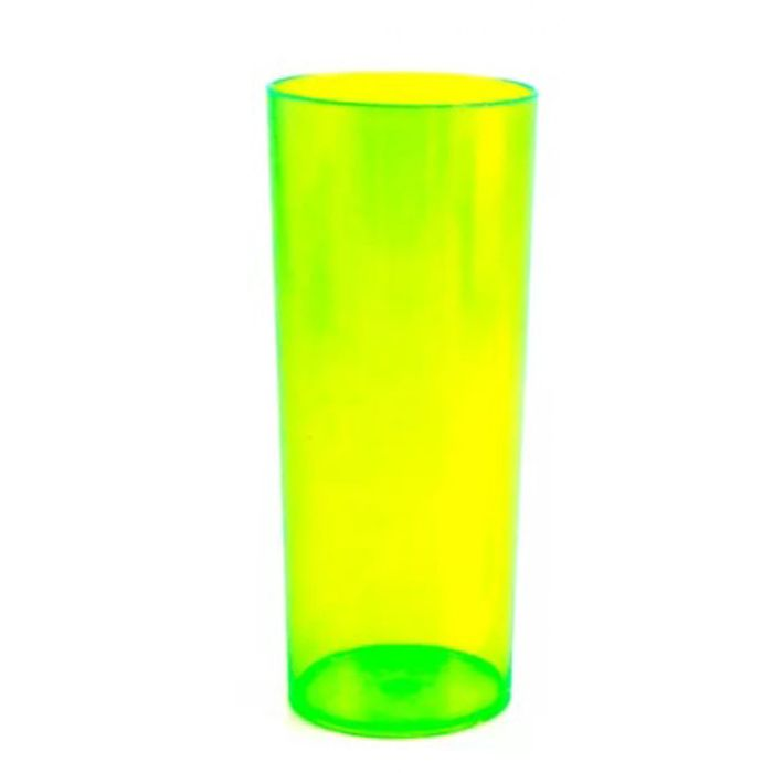 Copo Long Drink de Acrílico Neon - 350ml