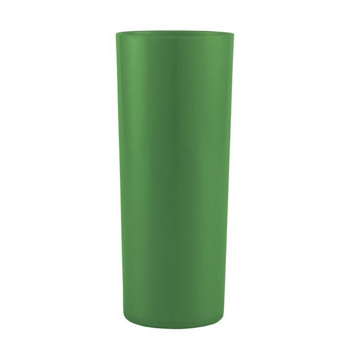 Copo Long Drink de Acrílico Verde - 350ml