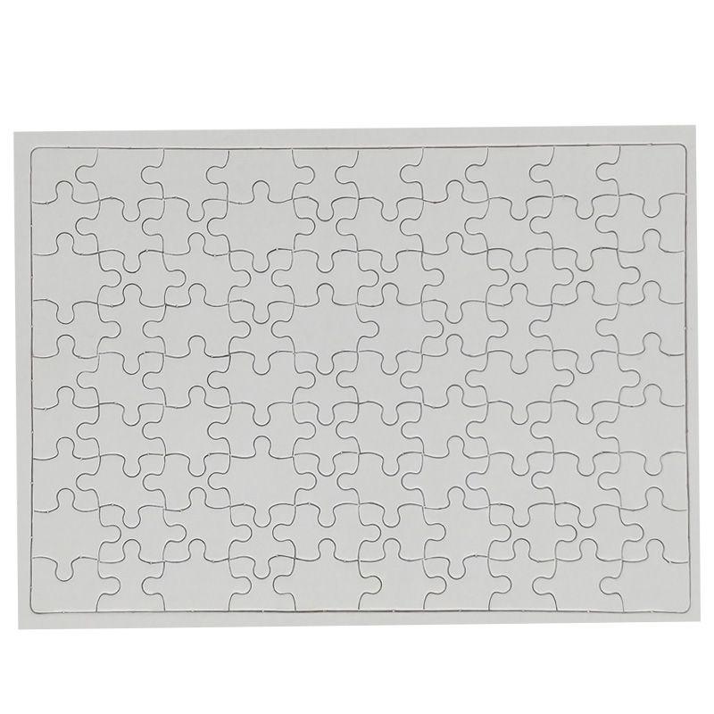 Quebra Cabeça Branco Para Sublimação 90 Peças A4  - ALFANETI COMERCIO DE MIDIAS E SUBLIMAÇÃO LTDA-ME