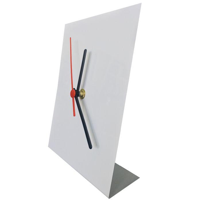 Relógio  Para Sublimação 15x20 (Alumínio)  - ALFANETI COMERCIO DE MIDIAS E SUBLIMAÇÃO LTDA-ME