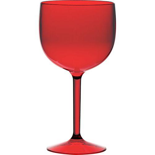 Taça de Gin (Vermelho) - 750ml  - ALFANETI COMERCIO DE MIDIAS E SUBLIMAÇÃO LTDA-ME