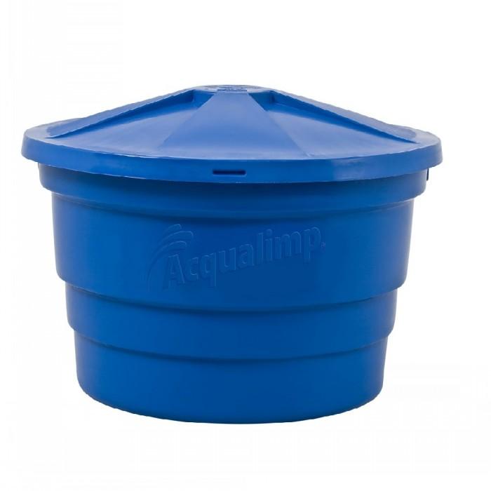 Caixas d'água Básica Azul