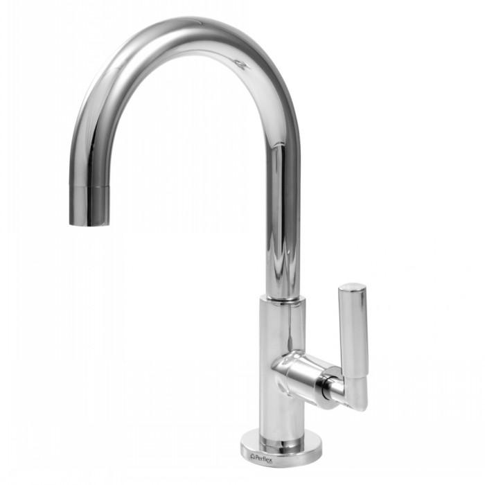 1196 C61 Torneira para lavatório - mesa - titanio futura