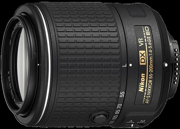 LENTE NIKON 55-200mm f/4-5.6G ED VR II  AF-S DX