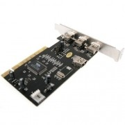 Placa Firewire Chipset Via 4 Portas IEEE1394 - Sarcompy