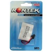 Bateria Recarregavel Mini 3,6V 300MAH P/TELEFONE sem Fio Rontek - Sarcompy