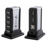Hub USB 2.0 7 Portas com Fonte - Sarcompy