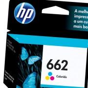 Cartucho HP 662 Colorido CZ104AB - Sarcompy