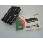 Switch VGA 2 Portas KSW-201 - Sarcompy