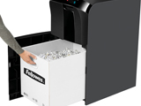 Fragmentadora Fellowes Automax 500C Corta CD CC Clips Grampo Automático de 500 folhas por ciclo em partículas de 4 x 38mm, cesto de 60 litros, Ruído 55DB 127V