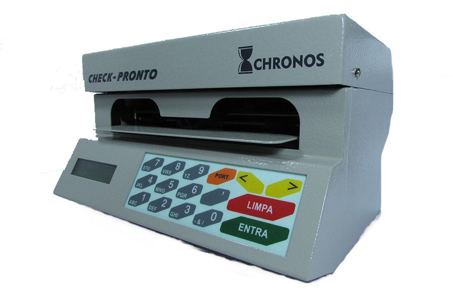 Impressora de Cheque CHRONOS MULTI 31100 Bege com conexão serial ao computador