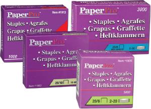 Grampos PaperPro 25/10 (cx com 3000 grampos) até 65 folhas