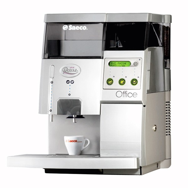 Cafeteira Autom�tica Saeco Royal Office 220V com moedor, visor LCD, bomba de press�o de 15 bar