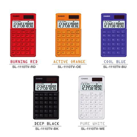 Calculadora Casio SL - 1110 TV Alimentação Solar e Pilha - Alta Qualidade