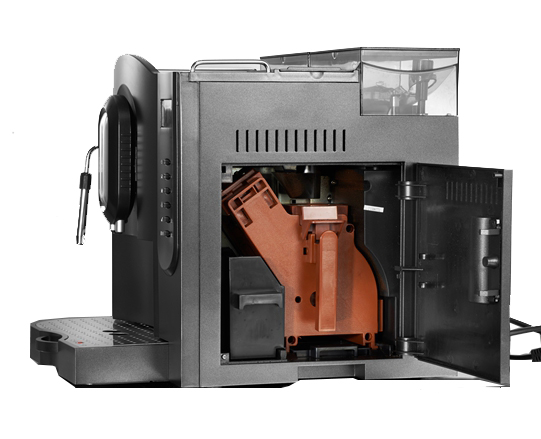 Máquina de Café Expresso T-Klar ME707 220V Automática com moedor de grãos, painel digital