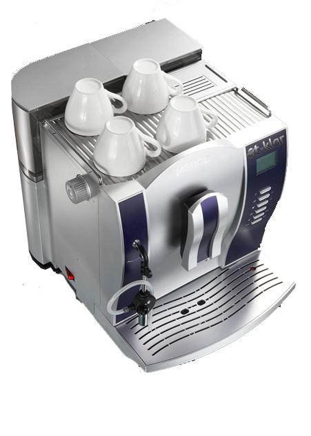 M�quina de Caf� Expresso T-Klar ME708 110v autom�tica com moedor de gr�os e painel digital