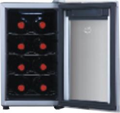 Adega Climatizada de Vinho 8 Garrafas Home Life HLW 800