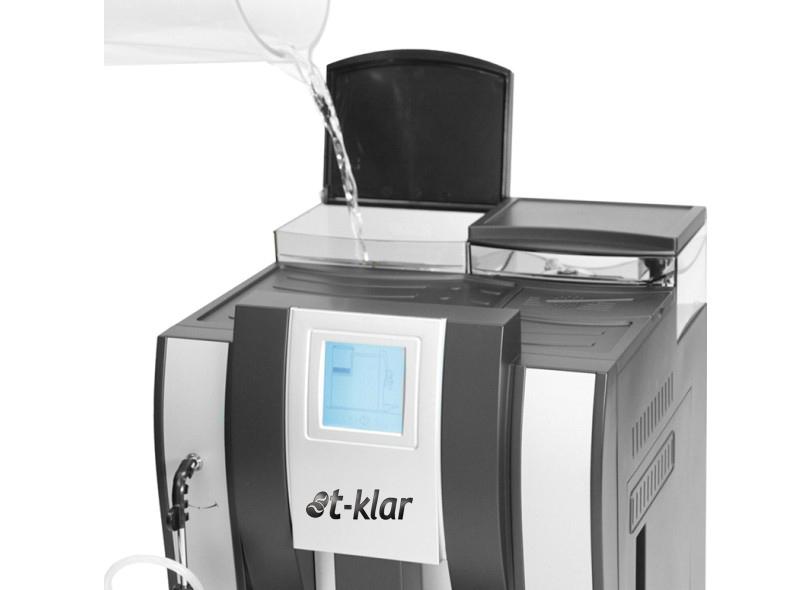 Máquina de Café Expresso T-Klar ME710 127V Automática com moedor de grãos e visor touch screen