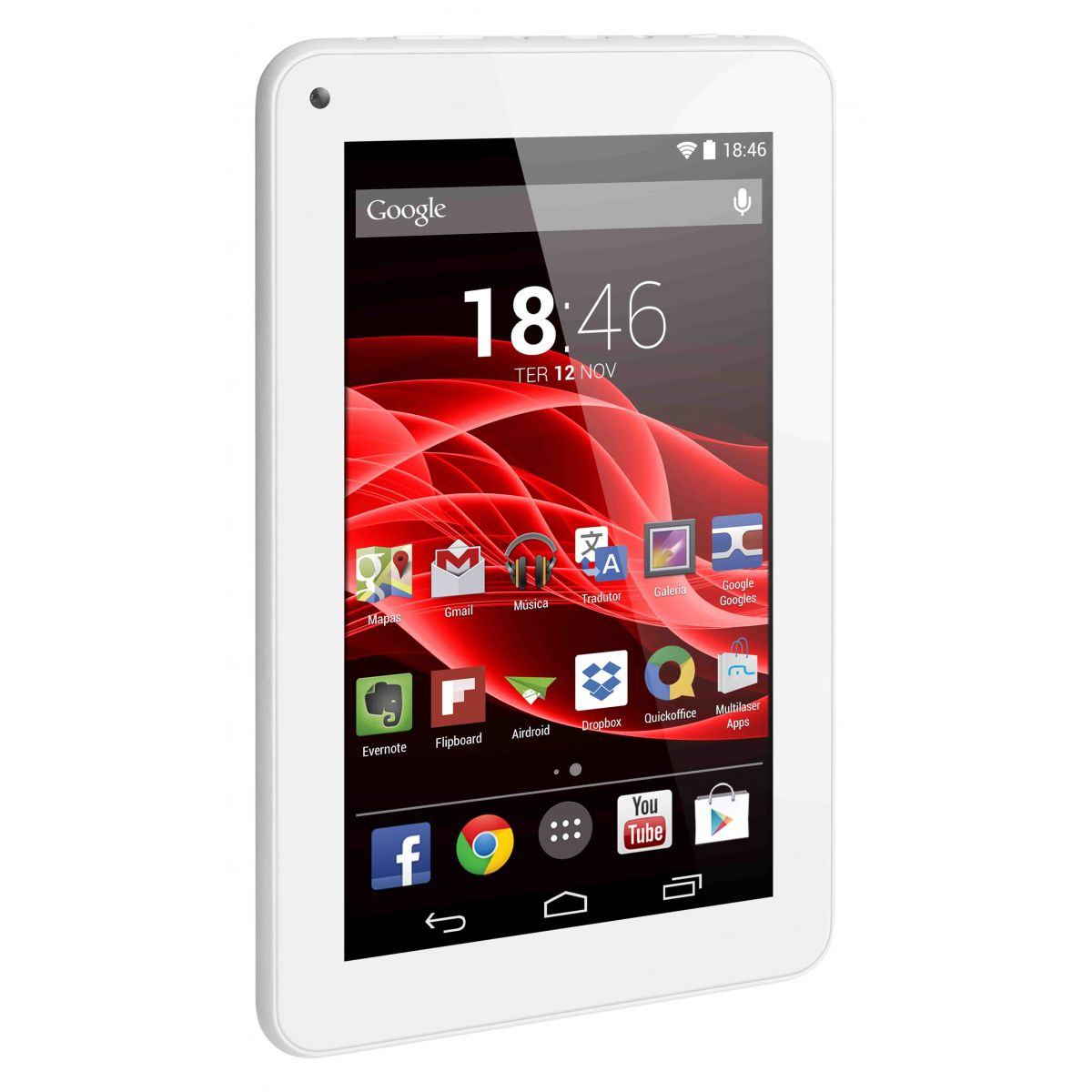 Tablet Multilaser M7S NB185 Branco Quadri Core Wifi 7