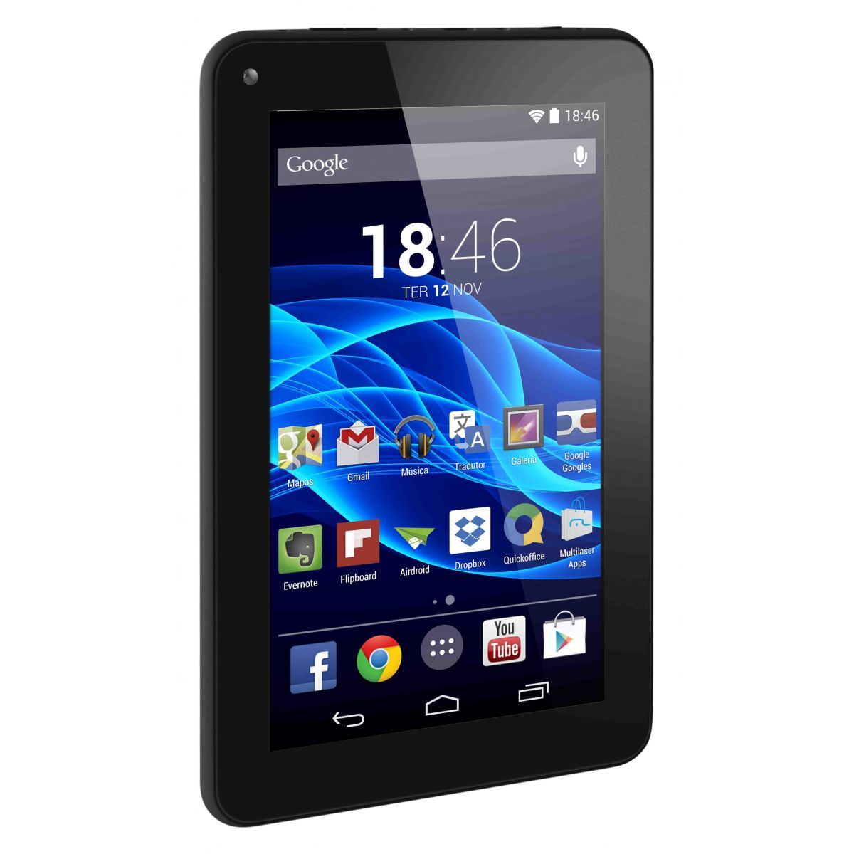 Tablet Multilaser M7S NB184 Preto Quadri Core Wifi 7