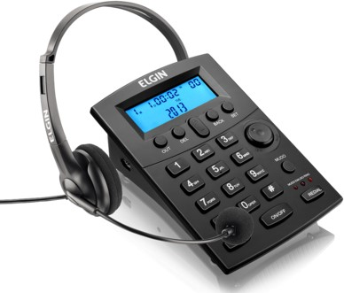 Telefone Headset Elgin HST-8000
