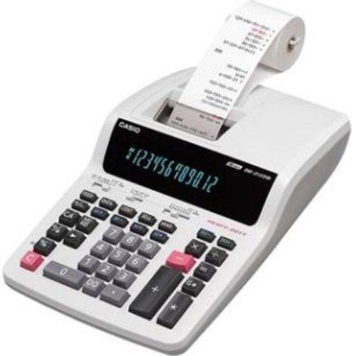 Calculadora Casio PRINTER DR-120TM-WE-BA-UDH 12 d�gitos com bobina 4.4  220v